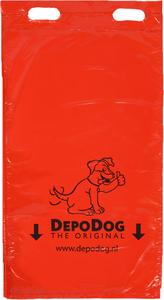 Hondenpoepzakjes rood blokverpakking